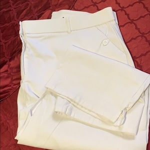 Plus size curvy fit white size 24w summer pant